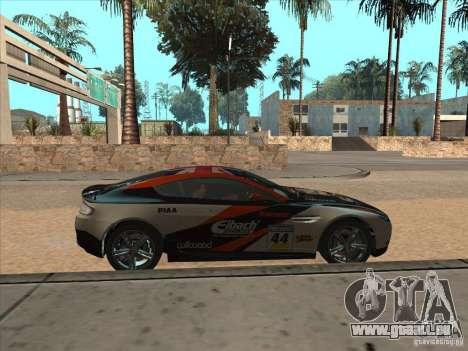 Aston Martin v8 Vantage n400 für GTA San Andreas Rückansicht