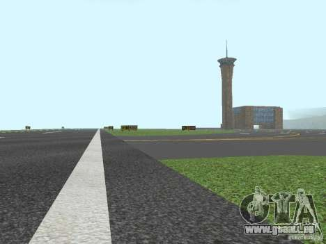 New Airport San Fierro pour GTA San Andreas quatrième écran