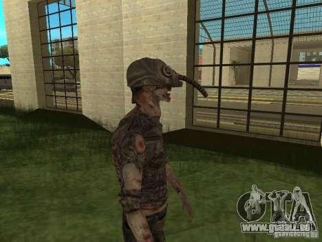 Snork de S.T.A.L.K.E. r pour GTA San Andreas troisième écran