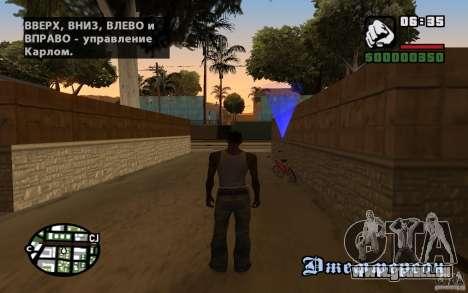 Lokalisierung von SanLtd Team für GTA San Andreas her Screenshot