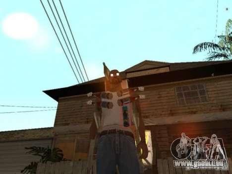 Raid pour GTA San Andreas deuxième écran