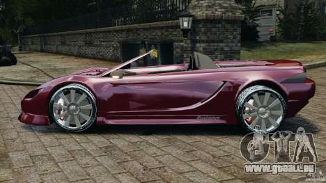 K-1 Attack Roadster v2.0 für GTA 4 linke Ansicht