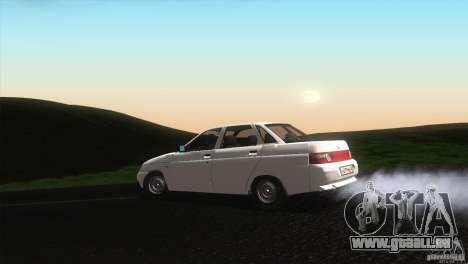 VAZ 2110 Drain für GTA San Andreas linke Ansicht