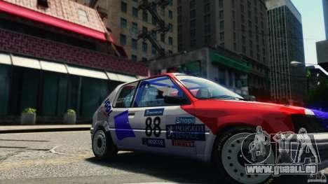Peugeot 205 Rally für GTA 4 rechte Ansicht