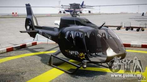 Eurocopter 130 B4 für GTA 4 Rückansicht