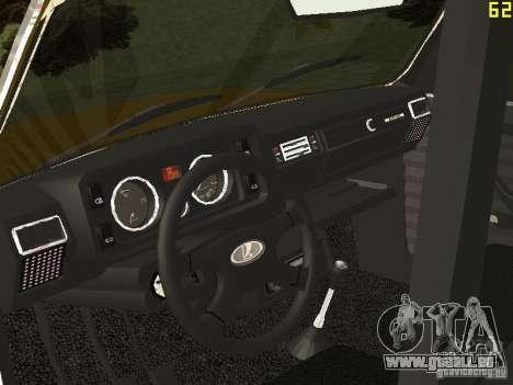 VAZ 2104 Taxi pour GTA San Andreas vue arrière