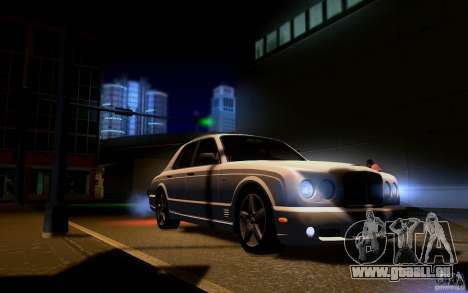 Bentley Arnage für GTA San Andreas Innen