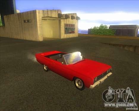Dodge Coronet 1967 pour GTA San Andreas laissé vue