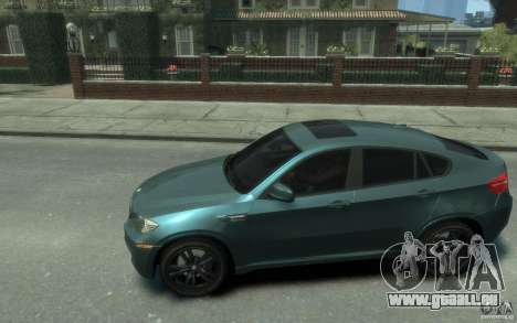 BMW X6-M 2010 für GTA 4 linke Ansicht