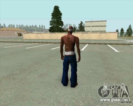2Pac für GTA San Andreas dritten Screenshot