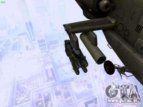 HD Hunter pour GTA San Andreas vue de dessus