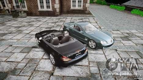 Mercedes Benz SL65 AMG V1.1 pour GTA 4 est une vue de dessous