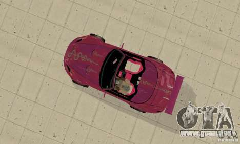 Honda S2000 The Fast and Furious pour GTA San Andreas vue arrière