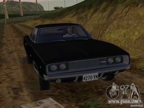 Dodge Charger 426 R/T 1968 v2.0 pour une vue GTA Vice City de la gauche