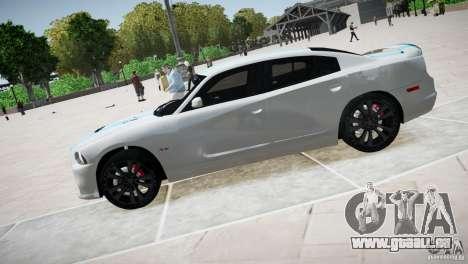 Dodge Charger SRT8 2012 pour GTA 4 est une gauche