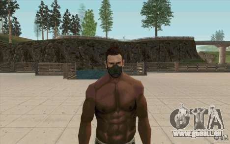 Stalker-Maske für GTA San Andreas