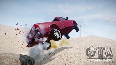 Ford Ranger für GTA 4 Innen
