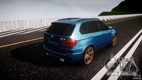 BMW X5 M-Power wheels V-spoke pour GTA 4 est un côté