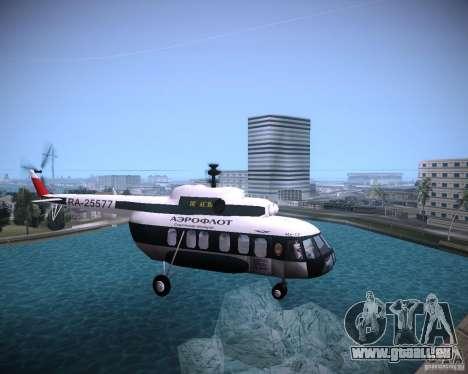 MIL MI-8 für GTA Vice City rechten Ansicht