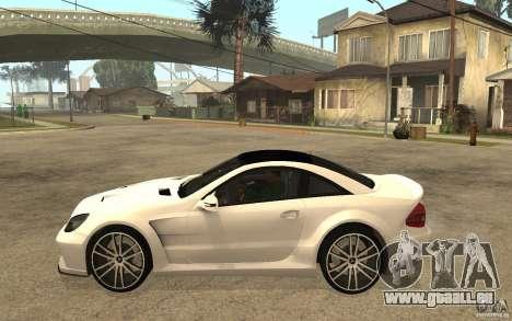 Mercedes-Benz SL65 AMG BS pour GTA San Andreas laissé vue