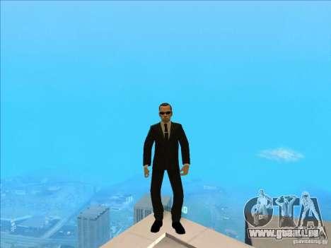 Matrix Skin Pack für GTA San Andreas siebten Screenshot