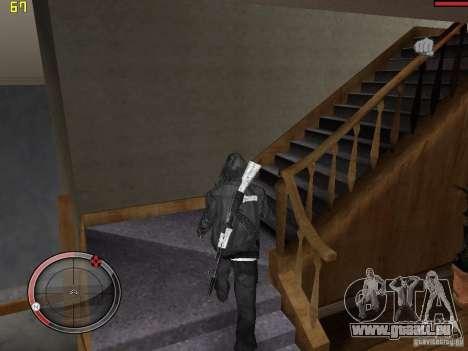 Walk style pour GTA San Andreas troisième écran