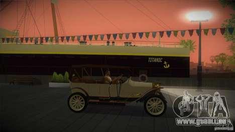 Russo-Balt avec 2440 pour GTA San Andreas laissé vue