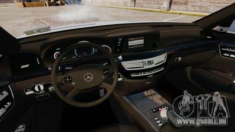 Mercedes-Benz S65 W221 Vossen v1.2 pour GTA 4 est un côté