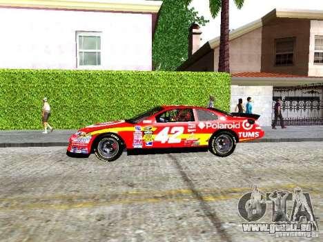 Chevrolet Impala SS Nascar Nr.88 pour GTA San Andreas laissé vue
