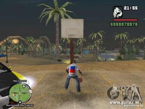 Fußball-Russland für GTA San Andreas dritten Screenshot