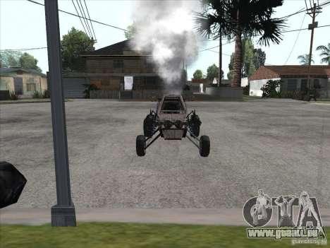 Turbo car v.2.0 pour GTA San Andreas sur la vue arrière gauche