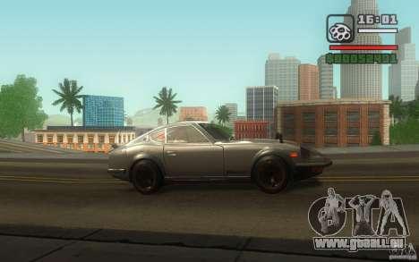 Datsun 240ZG pour GTA San Andreas vue de côté