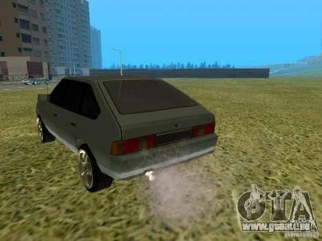 Moskvich 2141-sinkenden 45 für GTA San Andreas rechten Ansicht