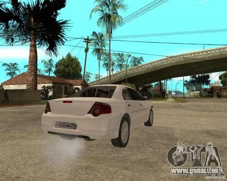 GAZ Volga Siber 2,5 AT für GTA San Andreas zurück linke Ansicht