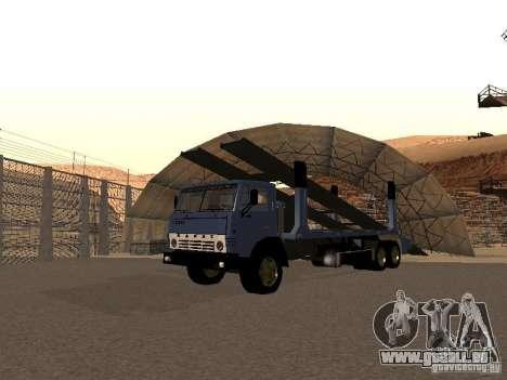 Camion KAMAZ pour GTA San Andreas