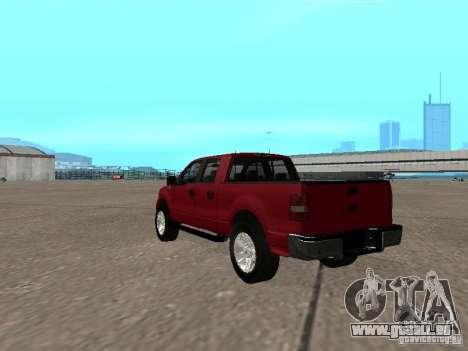 Ford F-150 2005 für GTA San Andreas zurück linke Ansicht