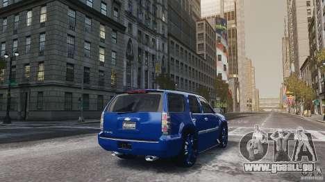 Chevrolet Tahoe tuning für GTA 4 rechte Ansicht