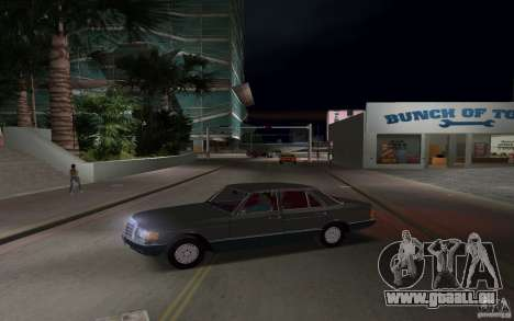 Mercedes-Benz W126 500SE für GTA Vice City linke Ansicht
