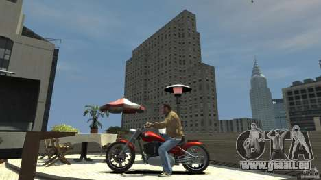 The Lost and Damned Bikes Lycan pour GTA 4