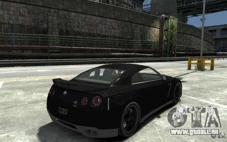 Nissan GT-R R35 Final für GTA 4 rechte Ansicht