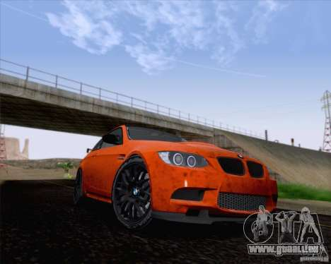 BMW M3 GT-S Fixed Edition für GTA San Andreas linke Ansicht