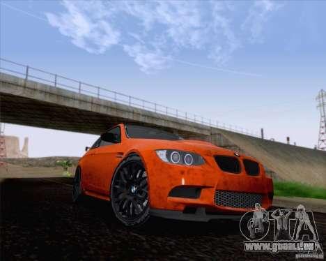 BMW M3 GT-S Fixed Edition pour GTA San Andreas laissé vue