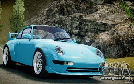 Porsche 911(993) GT2 1995 pour GTA 4 Vue arrière