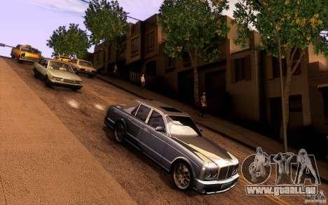 Bentley Arnage R 2005 für GTA San Andreas Innenansicht