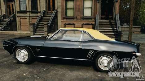 Chevrolet Camaro SS 350 1969 pour GTA 4 est une gauche