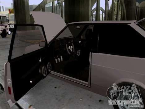 Drain de VAZ 2108 pour GTA San Andreas vue de côté