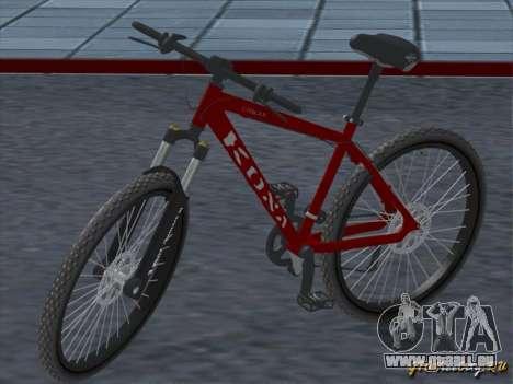 Kona Cowan 2005 für GTA San Andreas Innenansicht