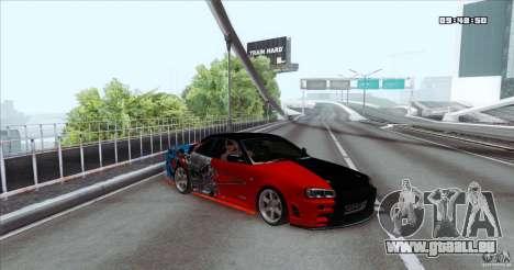 Nissan Skyline R34 Evil Empire für GTA San Andreas
