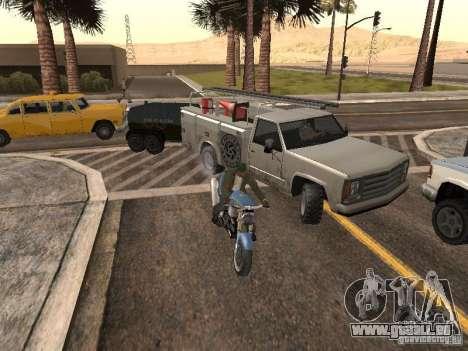 PKW mit Anhänger für GTA San Andreas her Screenshot