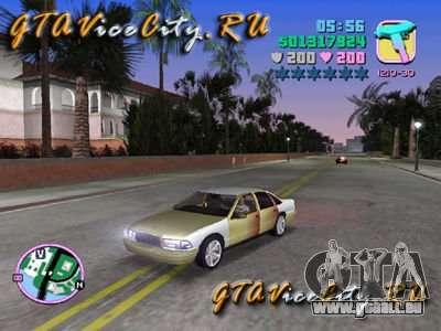 Chevrolet Caprice Classic für GTA Vice City